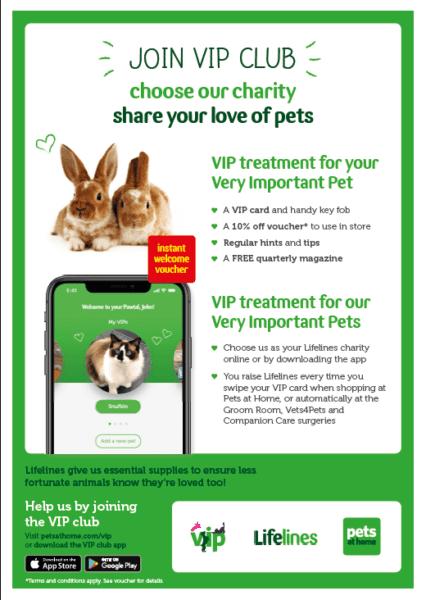 Pets at Home VIP poster